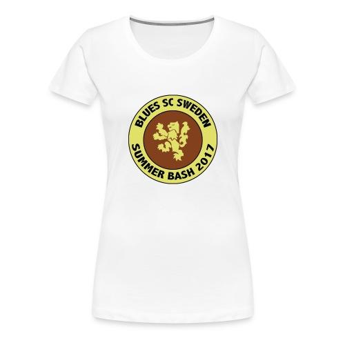 SB rund - Premium-T-shirt dam
