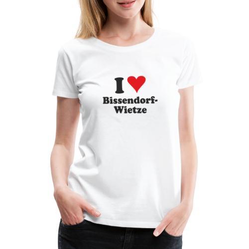 I Love Bissendorf-Wietze - Frauen Premium T-Shirt
