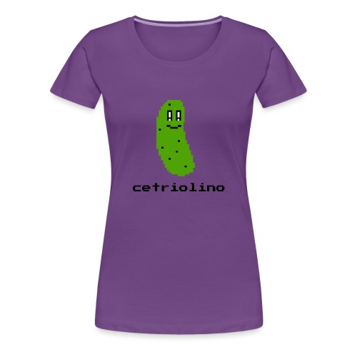 8-bit Pickle (Light T-Shirt) - Maglietta Premium da donna
