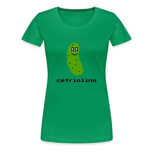 8-bit Pickle (Light T-Shirt) - Maglietta Premium da donna