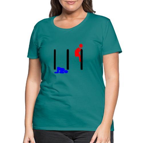 Mann und Frau - Frauen Premium T-Shirt