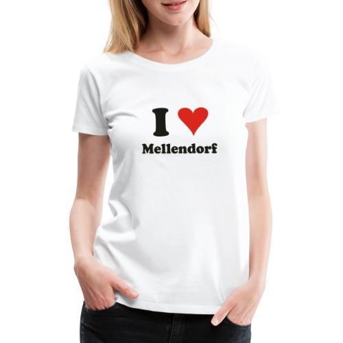 ILoveMellendorf - Frauen Premium T-Shirt