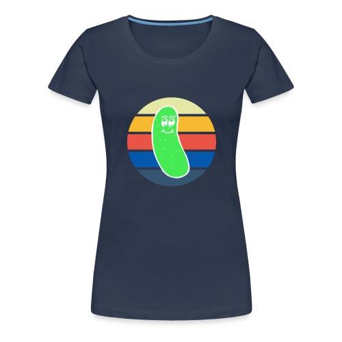 Vintage Colored Pickle #3 - Maglietta Premium da donna
