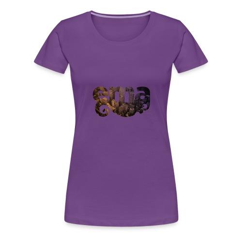 Kameleon in der Grossstadt - Frauen Premium T-Shirt