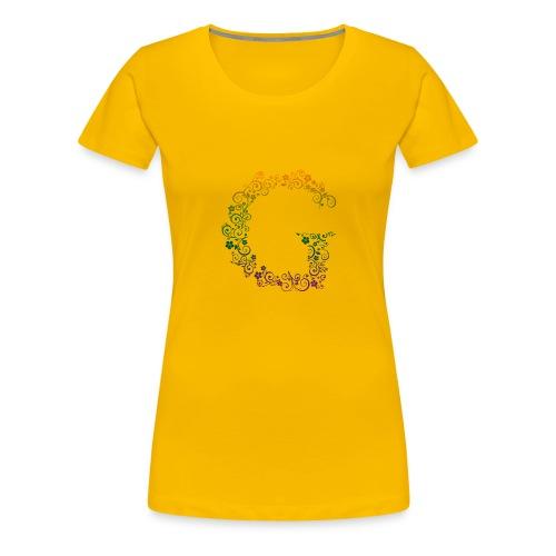 G wie Garten - Frauen Premium T-Shirt