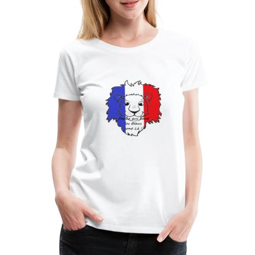 Lion supporter France - T-shirt Premium Femme