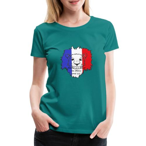 Lion supporter France - T-shirt Premium Femme