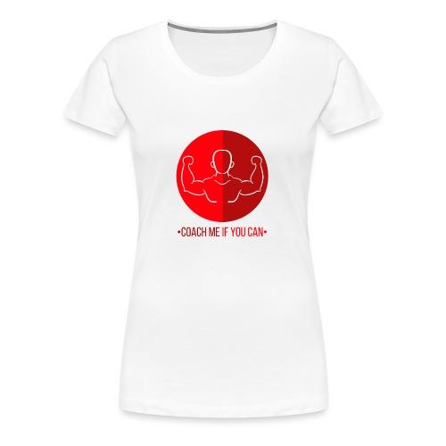 Muscle Rouge - T-shirt Premium Femme