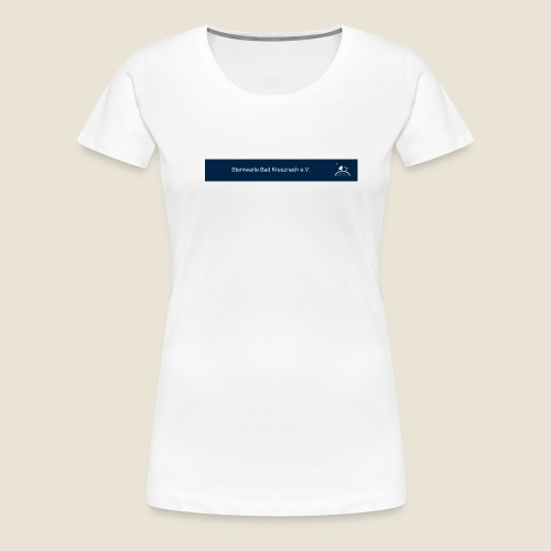 logo_blau_kurz - Frauen Premium T-Shirt