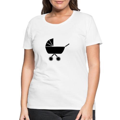 Kinderwagen - Frauen Premium T-Shirt