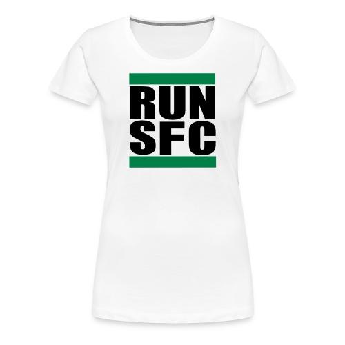run sfc png - Frauen Premium T-Shirt