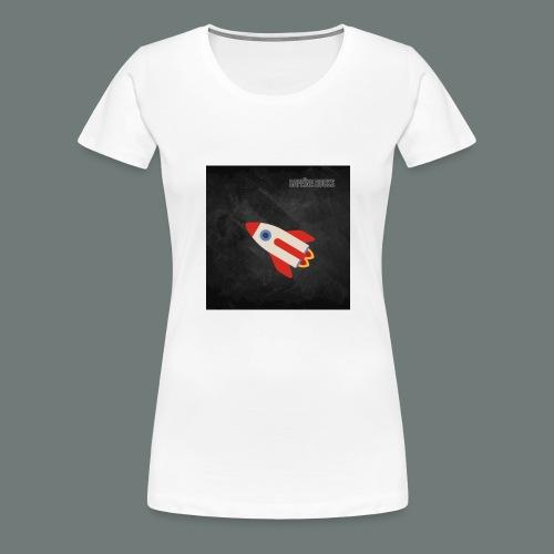 Cafeïne Rocks Rocket - Vrouwen Premium T-shirt