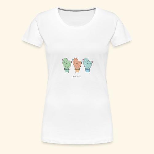 Third eye cactus - Maglietta Premium da donna