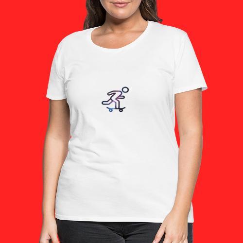 galaxy skate - T-shirt Premium Femme