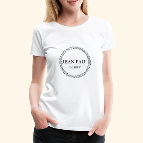 Logo - Jean Paul Desert - Women's Premium T-Shirt