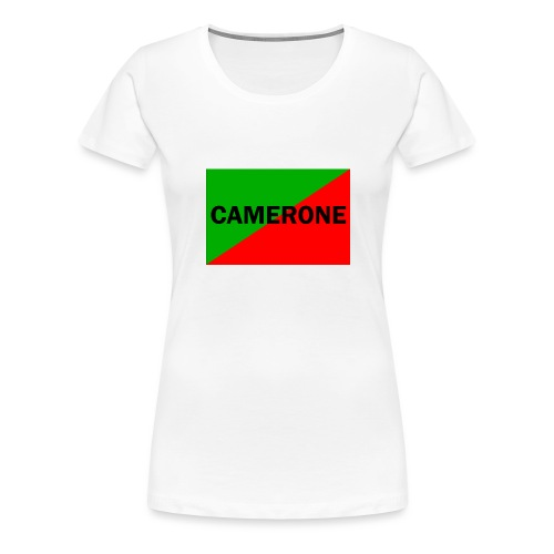 Camerone - T-shirt Premium Femme