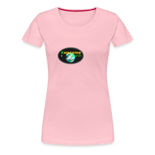 awesome earth - Women's Premium T-Shirt