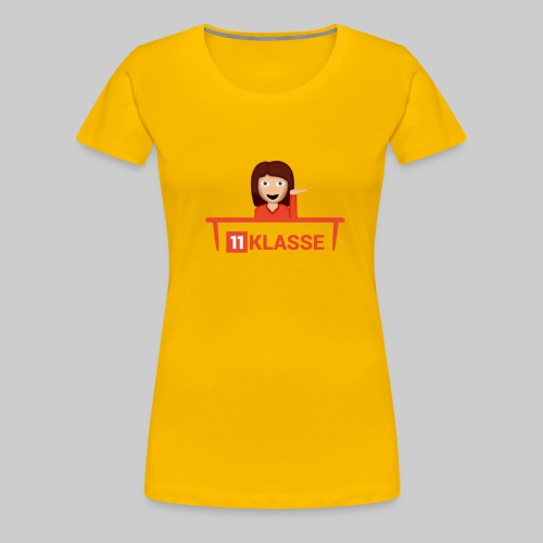 DesignWoman png - Frauen Premium T-Shirt
