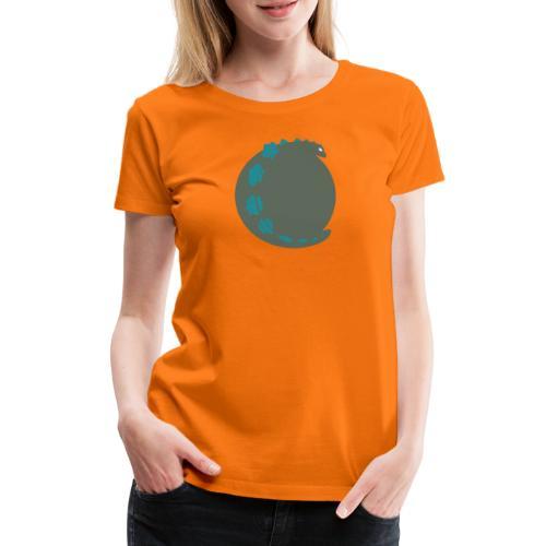 Godzilla - T-shirt Premium Femme