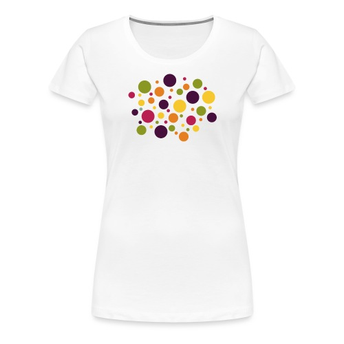 Dots are the new stripes - Frauen Premium T-Shirt