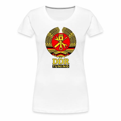 DDR Tuning Coat of Arms 3c - Women's Premium T-Shirt