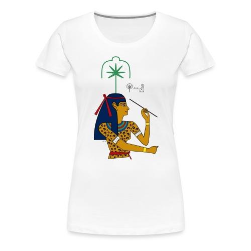 Seschat – altägyptische Göttin - Frauen Premium T-Shirt