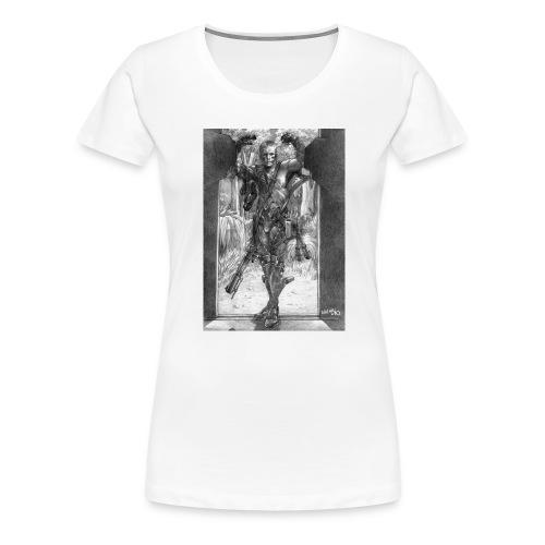 sniper - T-shirt Premium Femme