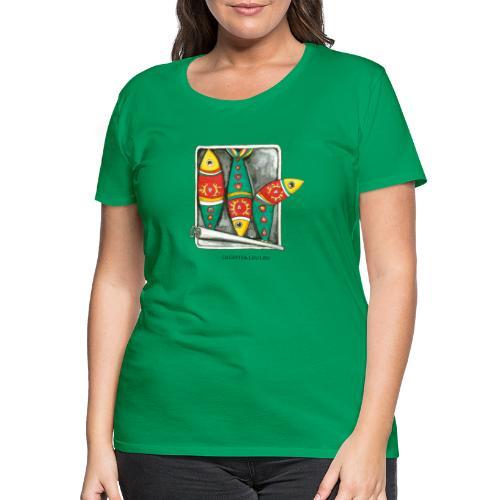 Les sardines - T-shirt Premium Femme