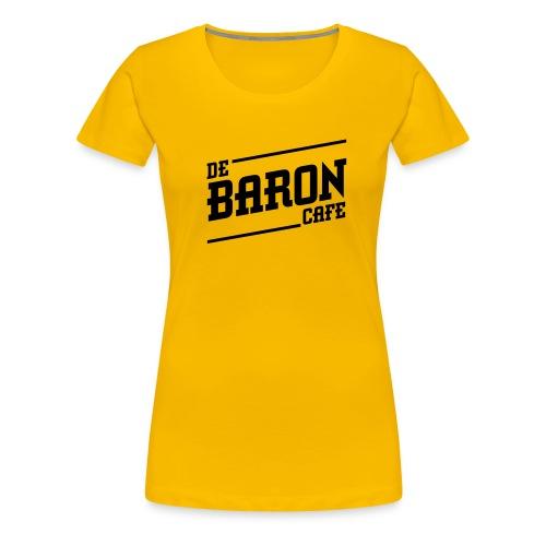 baron no back black - Vrouwen Premium T-shirt