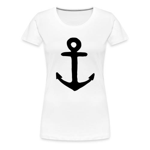 Joergensurf-Anker - Frauen Premium T-Shirt