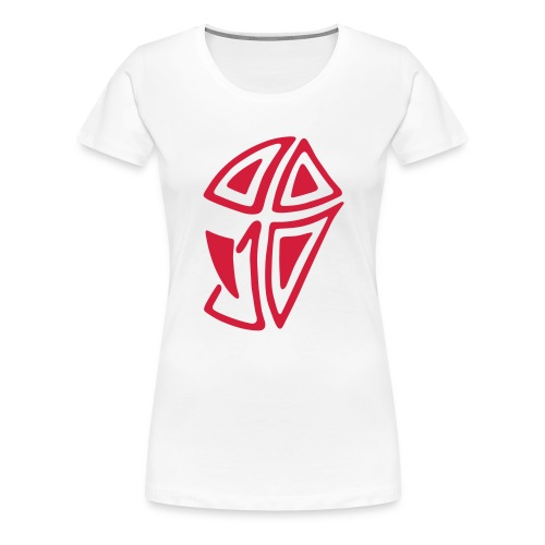 Mini Logo I - Frauen Premium T-Shirt