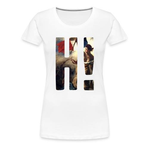 Apparel L'Histoire H! Logo Tee - Delacroix - Women's Premium T-Shirt