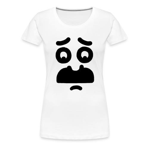 Helmi the Face – Nr. 10 - Frauen Premium T-Shirt