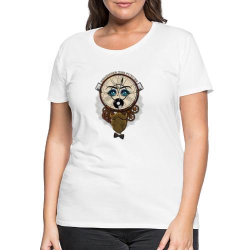 Remember the Futur 'pour couleur Foncée' - T-shirt Premium Femme