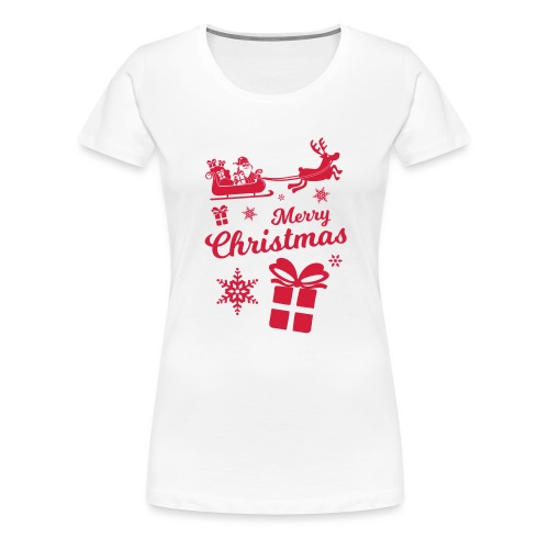 merry_christmas_3 - T-shirt Premium Femme