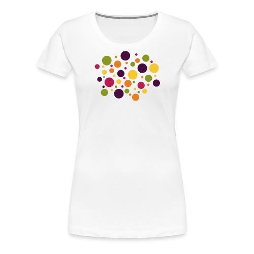 Dots are the new stripes - Frauen Premium T-Shirt