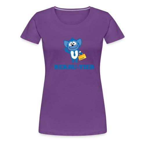 rekrutierfin2pfad - Frauen Premium T-Shirt