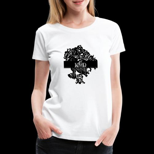 KCD Small Print - Women's Premium T-Shirt