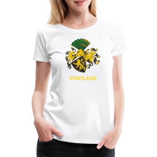 Vogtland Wappen Weida - Frauen Premium T-Shirt