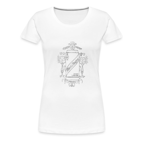Red Stripe - Women's Premium T-Shirt