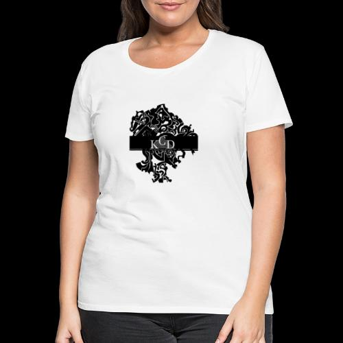 KCD Small Print - Women's Premium T-Shirt