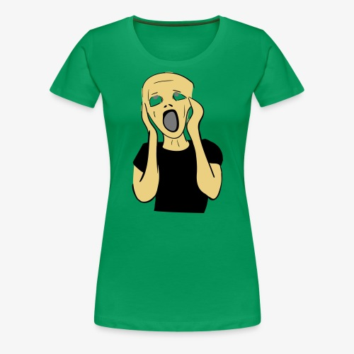 HUUTAJA - Naisten premium t-paita