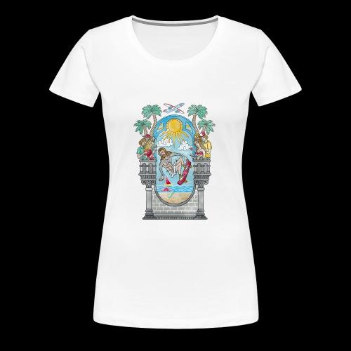Lord of the Board - Frauen Premium T-Shirt