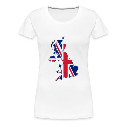 UK Proud - Women's Premium T-Shirt