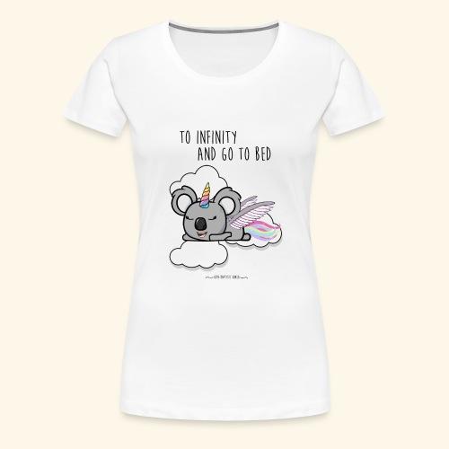 Buzz koala - T-shirt Premium Femme