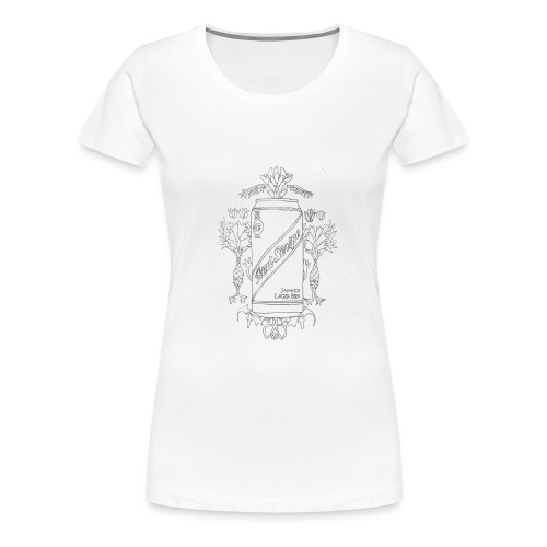 Red Stripe - Women's Premium T-Shirt