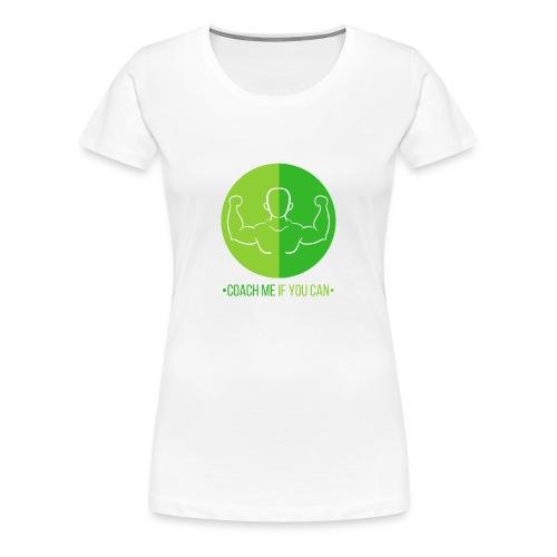 Muscle Vert - T-shirt Premium Femme