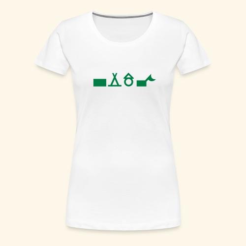 Unterkünfte 3 - Frauen Premium T-Shirt