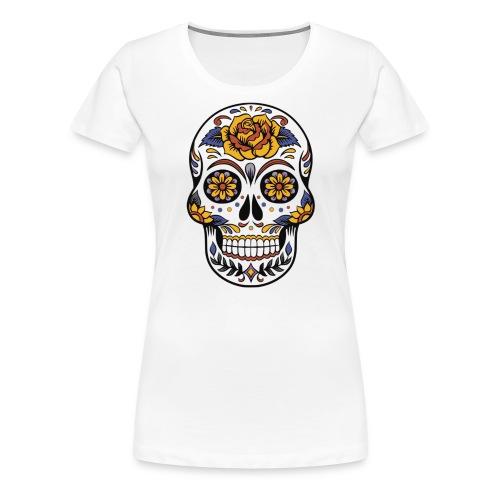 Mexican Skull - Women's Premium T-Shirt
