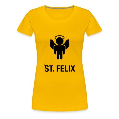 st felix - Naisten premium t-paita